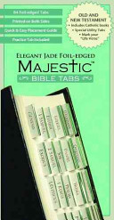 Majestic Elegant Jade Foil Edged Bible Tabs PDF