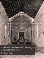 Storia del marchesato di Dolceacqua e dei comuni di val Nervia