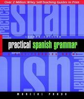 Practical Spanish Grammar PDF
