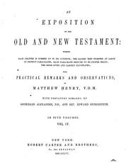 An Exposition of the Old and New Testament PDF