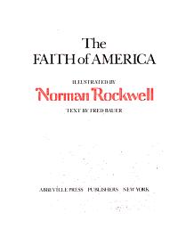 The Faith of America