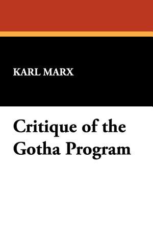 Critique of the Gotha Program