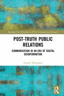 Post truth Public Relations PDF