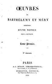 Oeuvres de Barthélemy et Méry: Volume1