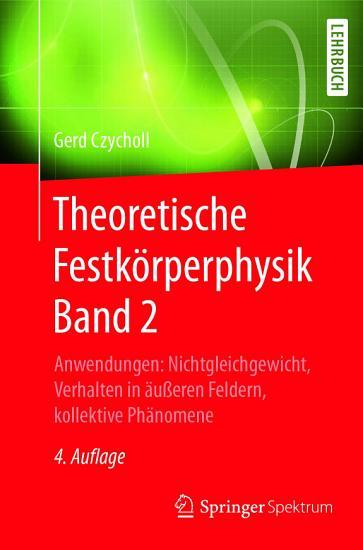 Theoretische Festk  rperphysik Band 2 PDF