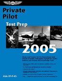 Private Pilot Test Prep 2005
