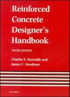 Reinforced Concrete Designer s Handbook  Tenth Edition PDF