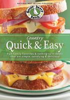 Country Quick   Easy Cookbook PDF