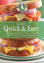 Country Quick & Easy Cookbook