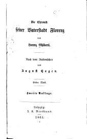 Die Chronik seiner Vaterstadt Florenz: Bände 1-2