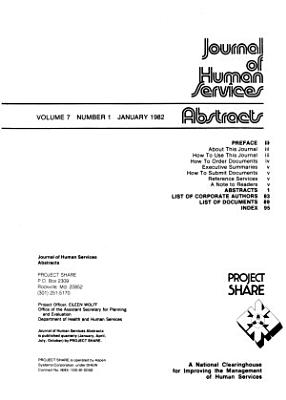Journal of Human Services Abstracts PDF