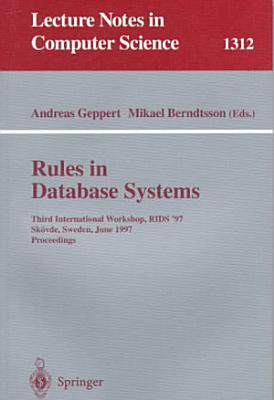 Rules in Database Systems PDF