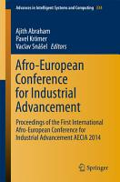 Afro European Conference for Industrial Advancement PDF