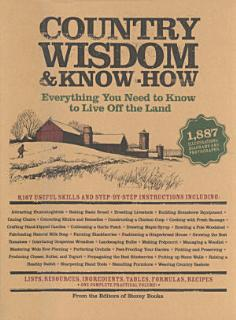 Country Wisdom   Know How Book