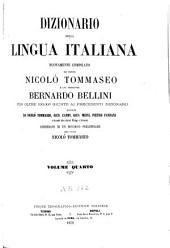 Dizionario della lingua italiana: Volume 6