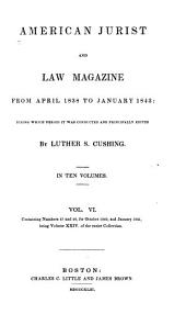 The American Jurist: And Law Magazine, Volume 24