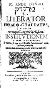 Literator Ebraeo-Chaldaeus