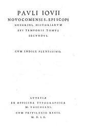 Historiae sui temporis: Volume 2