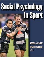 Social Psychology in Sport PDF