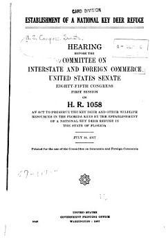 Establishment of a National Key Deer Refuge PDF