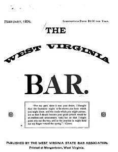 The West Virginia Bar PDF