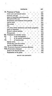 A Treatise on Verminous Diseases: Preceded by the Natural History of Intestinal Worms, and Their Origin in the Human Body