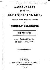 Diccionario portátil español-inglés compuesto sobre las últimas ediciones de Neuman e Baretti