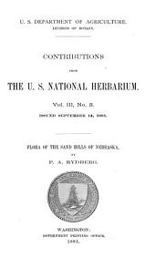 Flora of the Sand Hills of Nebraska: Volume 3, Issue 3