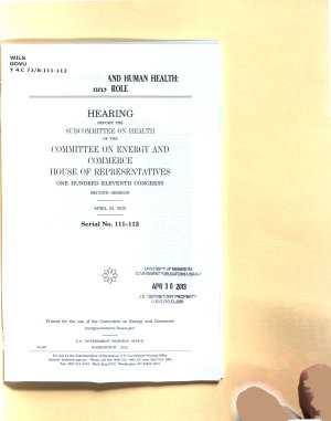 The Environment and Human Health PDF