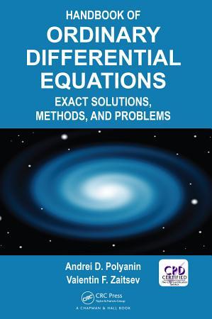 Handbook of Ordinary Differential Equations PDF