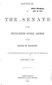 Journal of the Senate: Volume 22