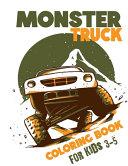 Monster Truck Coloring Books for Kids 3-5