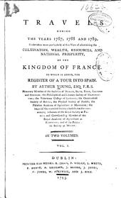 Travels in the Kingdom of France