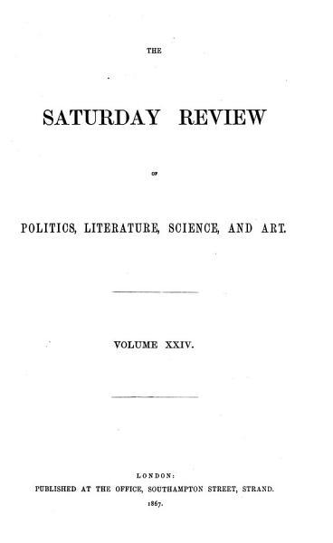 Download Saturday Review Book