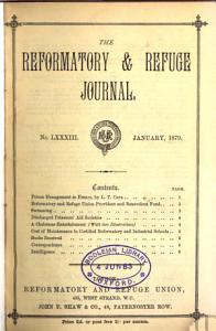 The Reformatory and refuge journal  afterw   Seeking and saving PDF