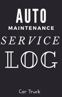 Auto Maintenance Service Log