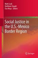 Social Justice in the U S  Mexico Border Region PDF
