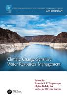 Climate Change Sensitive Water Resources Management PDF