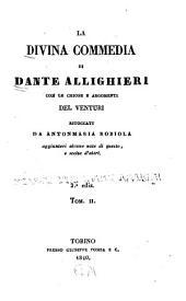 La Divina commedia di Dante Allighieri: Volume 2