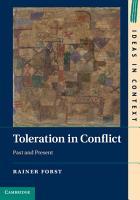 Toleration in Conflict PDF