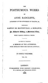 Gaston de Blondeville (cont.) St. Alban's abbey; a metrical romance