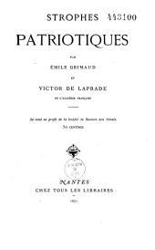 Strophes patriotiques: aux soldats et aux poètes bretons