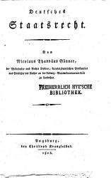 Deutsches Staatsrecht