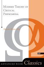 Modern Theory Of Critical Phenomena