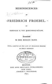 Reminiscences of Friedrich Froebel