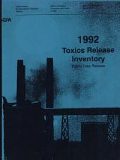Toxics Release Inventory (1992): Public Data Release