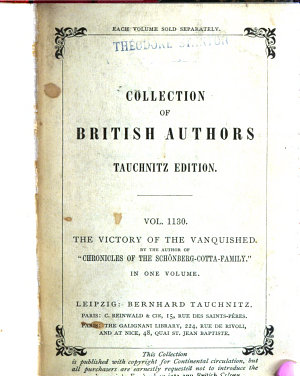 The Victory of the Vanquished PDF