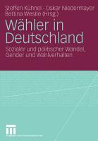 W  hler in Deutschland PDF