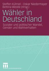Wähler in Deutschland: Sozialer und politischer Wandel, Gender und Wahlverhalten