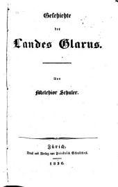 Geschichte des Landes Glarus